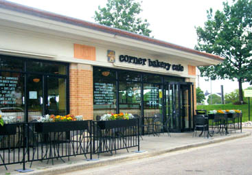 Corner Bakery in Wheaton, Illinois