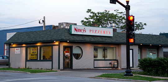 nancy 39 s pizzeria in wheaton il photo address directions and more. Black Bedroom Furniture Sets. Home Design Ideas